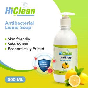HiClean-Antibacterial-Liquid-Soap-lemon-500ml